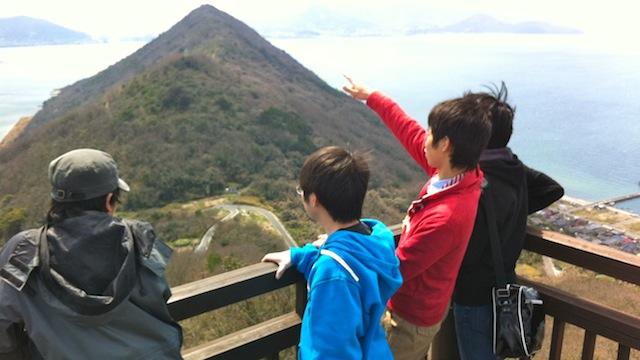 鬼ヶ島からの眺望